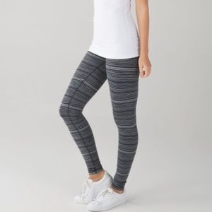"lululemon ""Wunder Under III"" Leggings, Size 6"